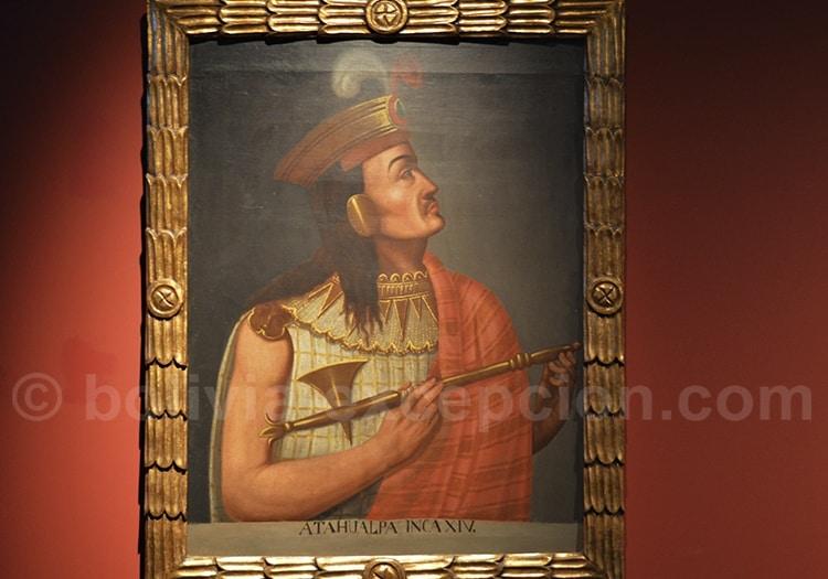 Atahualpa, dernier empereur inca