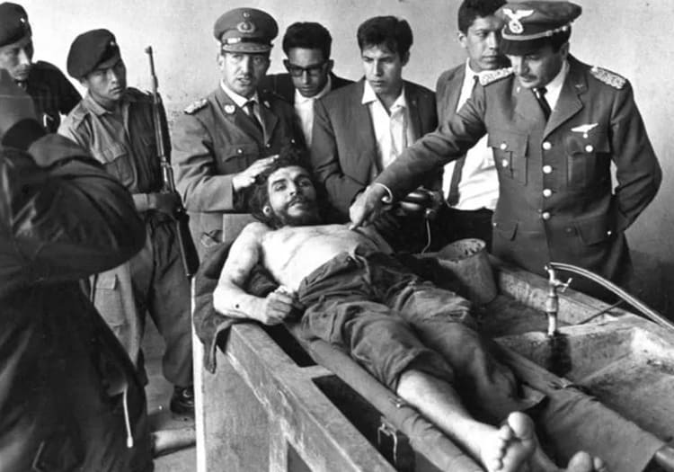 La mort de Che Guevara