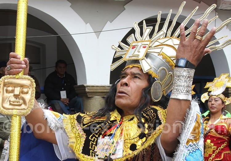Manco Cápac, carnaval d'Oruro