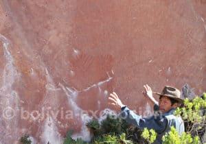 Peintures rupestres parc Torotoro