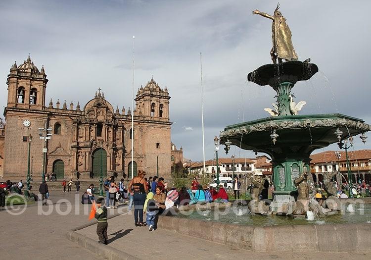 Statue de Manco Cápac à Cuzco
