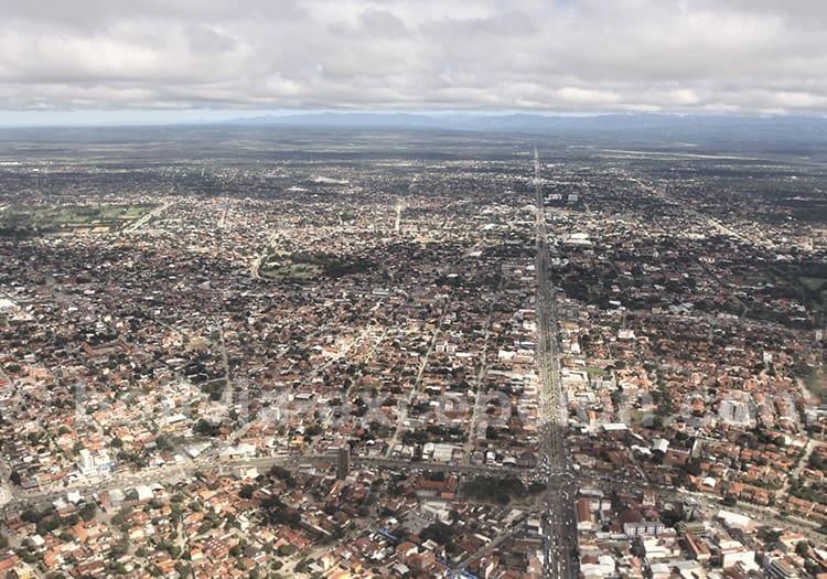 Géographie de Santa Cruz de La Sierra
