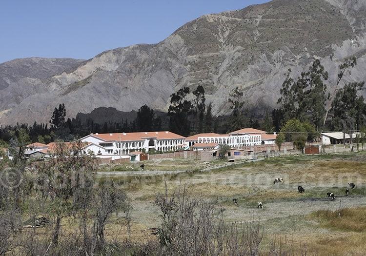 Hôtel dans la vallée de Mecacapa, La Paz