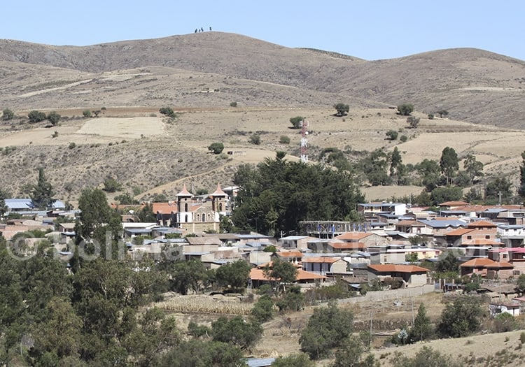 Village d'Anzaldo, Bolivie.