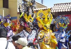 Diablada fête de la vierge d'Urkupiña