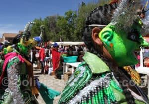 Masque diablada carnaval de Tarabuco