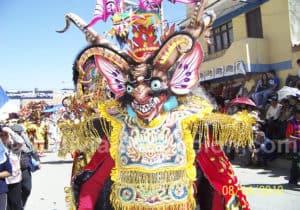 Danse de la Diablada, Quillacollo 15 août