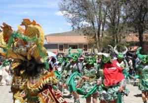 Danses traditionnel fête Tarabuco