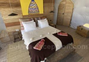 Kachi lodge intérieur dôme