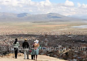 Ville d'Oruro, Bolivie