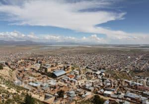 Oruro côté sud, lac Poopó