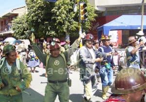 Fête de la vierge d'Urkupiña, Cochabamba