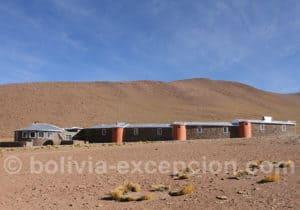 Hotel Tayka del Desierto, désert de Perdriz