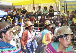 Fête de la vierge d'Urkupiña, Quillacollo