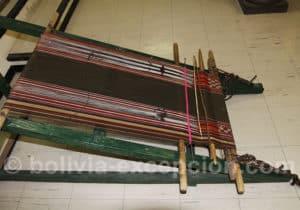 Atelier de tissage, musée de Sucre