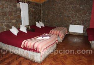 Hotel Tayka Del Desierto, chambre twin