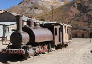Locomotive à vapeur, Pulacayo