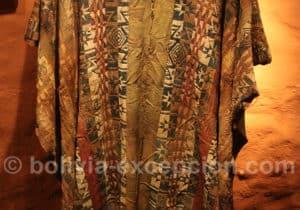 Tissu traditionnel de Bolivie