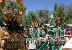 Danse de la Diablada à Tarabuco