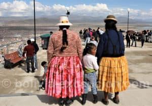 Pélerins à Oruro