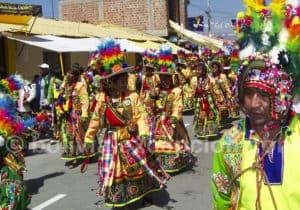 Fête de la vierge d'Urkupiña