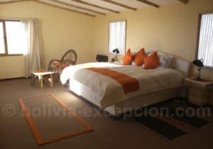 Chambre matrimoniale hotel Luna Salada