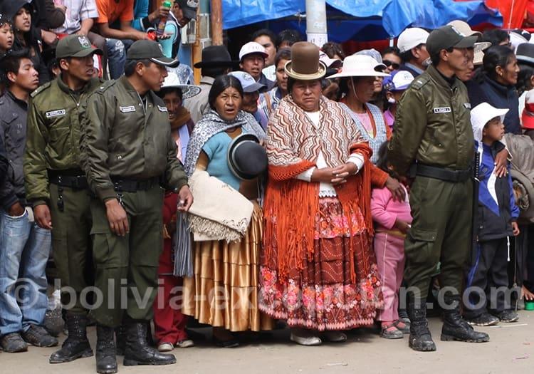 Août, fête nationale de Bolivie