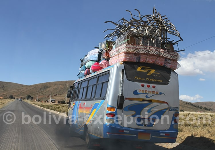 En Octobre, il fait souvent beau dans toute la Bolivie