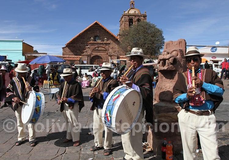 Festivités de janvier en Bolivie