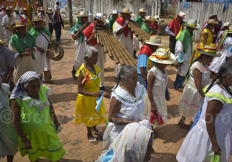Juillet, fête d'Ichapekene Piesta à San Ignacio de Moxos