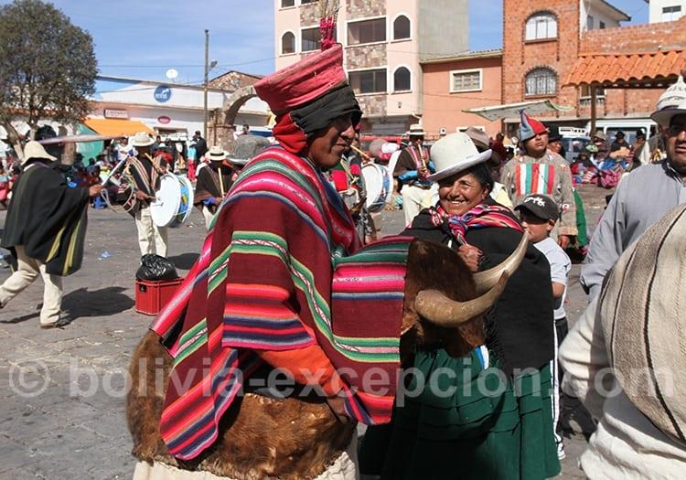 Juin, fête de Tiwanaku en Bolivie