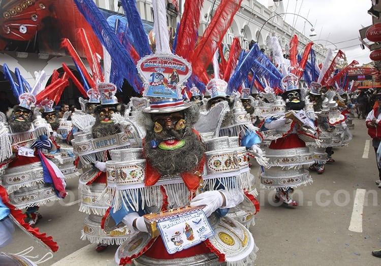 La Morenada au carnaval d'Oruro