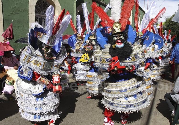 Les masques du carnaval d'oruro