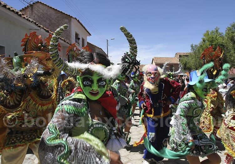 Masques folklore Bolivie