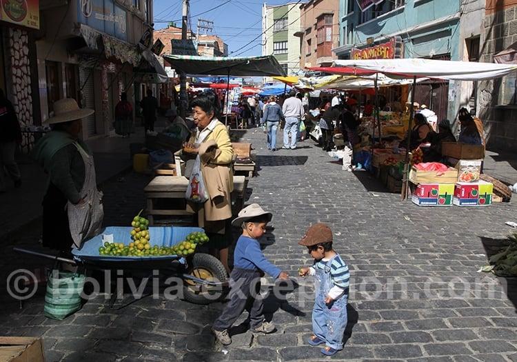 Négociation dans les rues de La Paz