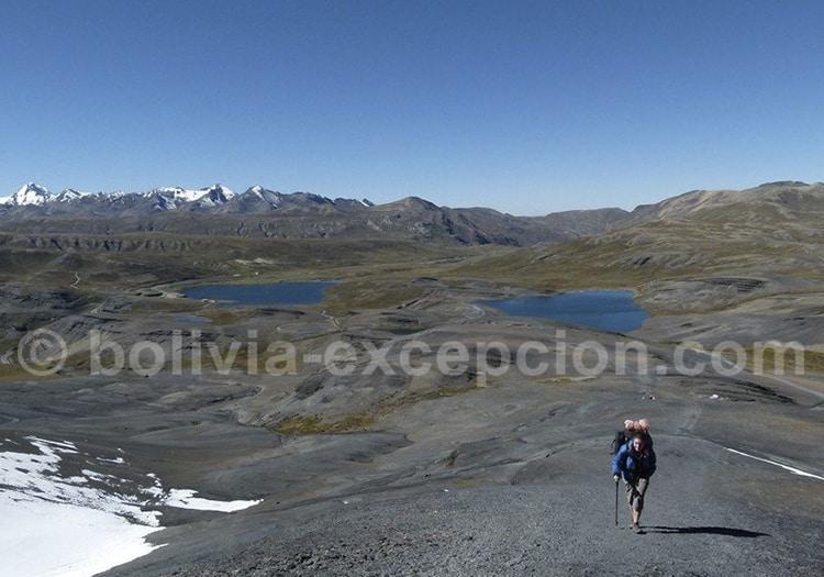 Randonnée dans la région de La Paz
