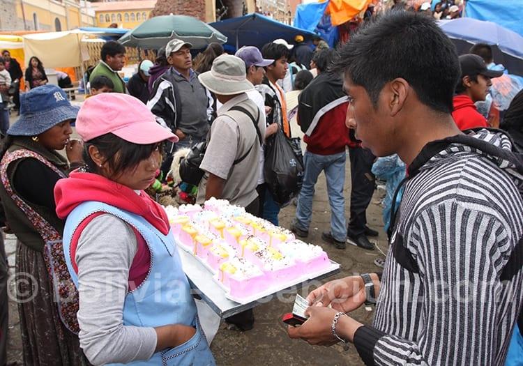 Scène de rue à Oruro