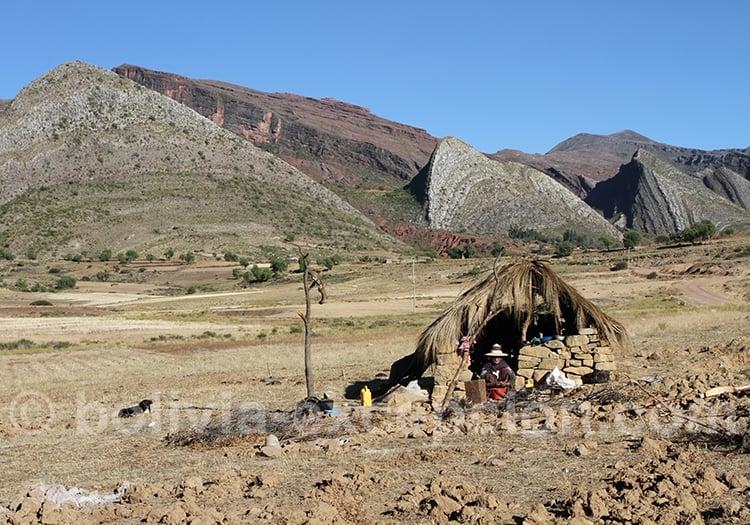Soins contre le mal de l'altitude en Bolivie