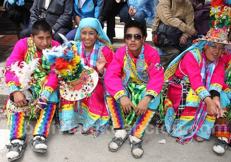 Sourires du carnaval Oruro