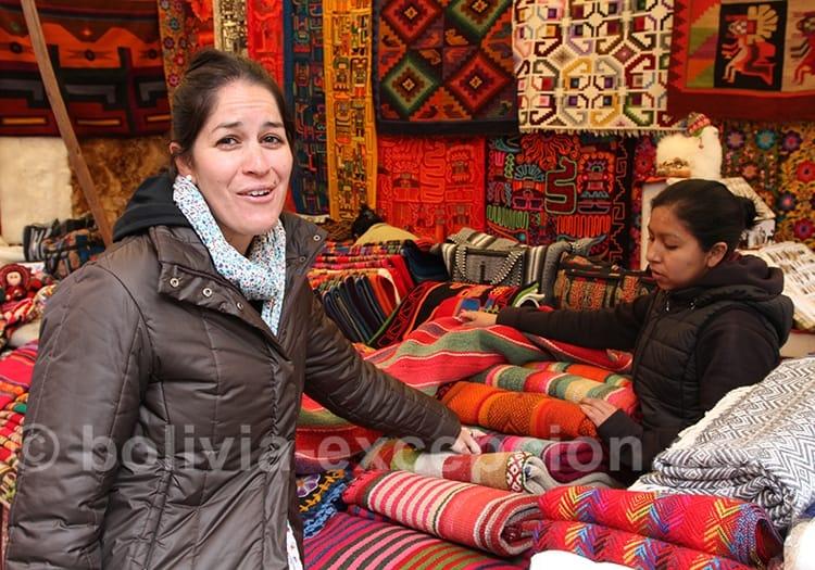 Taux de change et mode de paiement en Bolivie