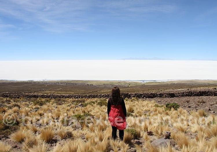 Trekking sur le volcan Tunupa Uyuni