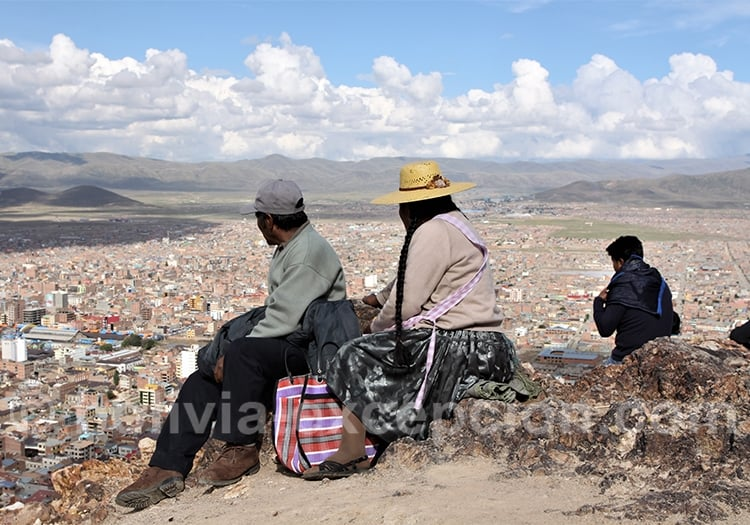Ville de Oruro, Bolivie