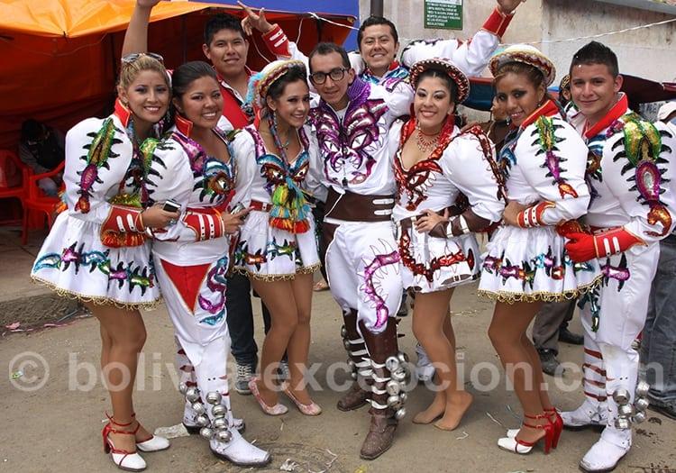 Visages du carnaval Oruro