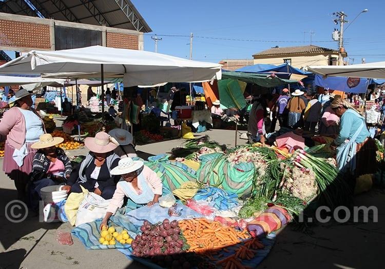 Visite de marchés de la vallée de Cochabamba