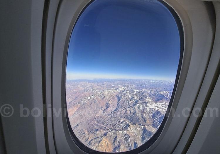 Vols internationaux vers la Bolivie