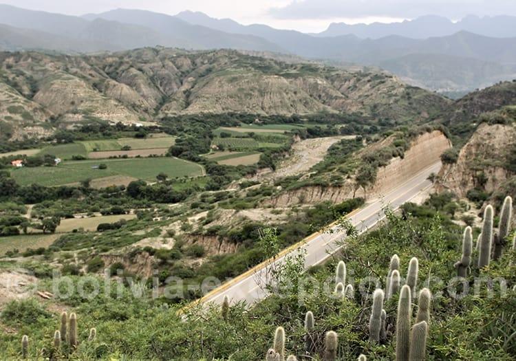 Route des vins Boliviens