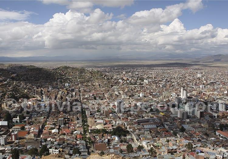 Climat de la ville d'Oruro, Bolivie