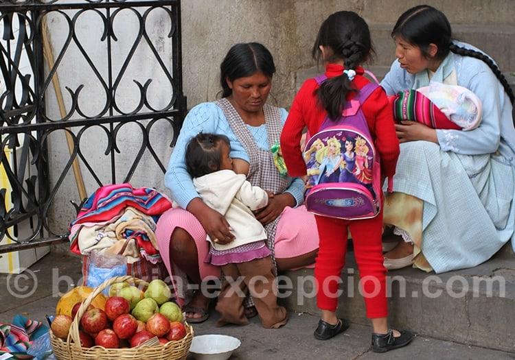 La vie quitidienne à La Paz