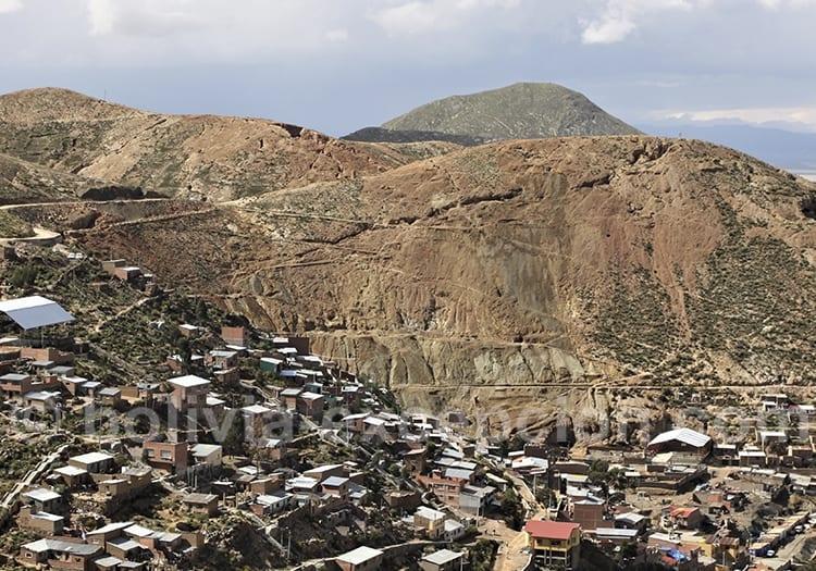 Mine San José à Oruro, or et cuivre