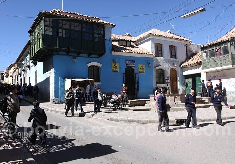 Ville de Potosi incontournable de Bolivie